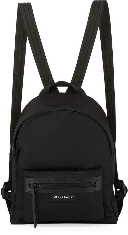 Longchamp Le Pliage Small Nylon Backpack - BLACK - STYLE