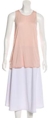 Halston Sleeveless Accented Top w/ Tags