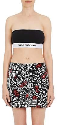Paco Rabanne Women's Logo Bandeau Top