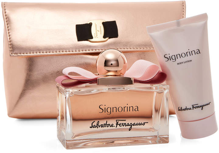 Salvatore Ferragamo Signorina 3-Piece Fragrance Gift Set