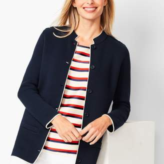 Talbots Military-Inspired Sweater Jacket