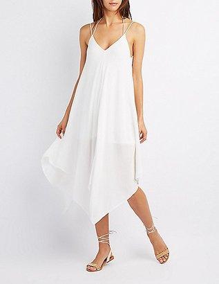 Handkerchief Hem Maxi Dress $34.99 thestylecure.com