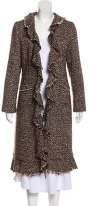 Calypso Virgin Wool Bouclé Coat