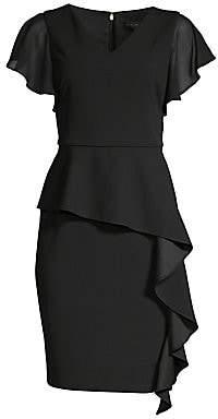 Donna Karan Women's Ruffle Sheath Dress