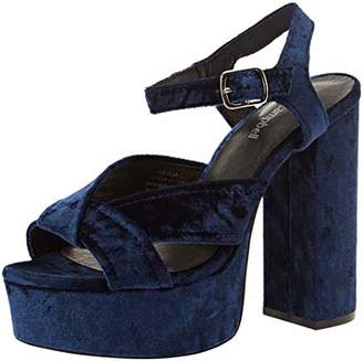 Jeffrey Campbell Women''s Amalia Platform Sandals, (Blue 001)