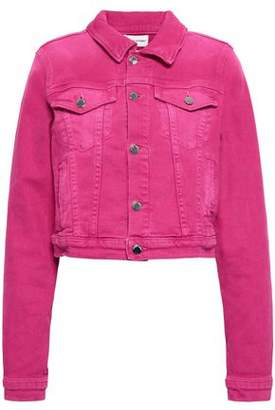 Cotton Citizen Cropped Denim Jacket