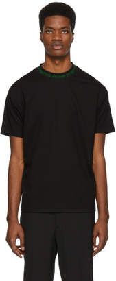 Acne Studios SSENSE Exclusive Black and Green Navid T-Shirt