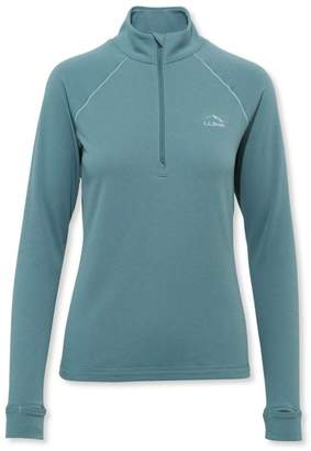 L.L. Bean L.L.Bean Women's Power Dry Stretch Base Layer Shirt, Expedition-Weight