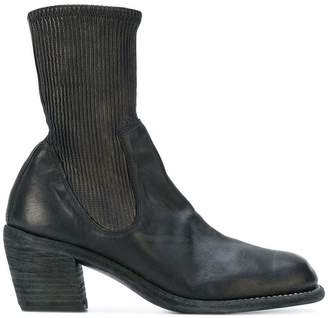 Guidi western style sock fit boots