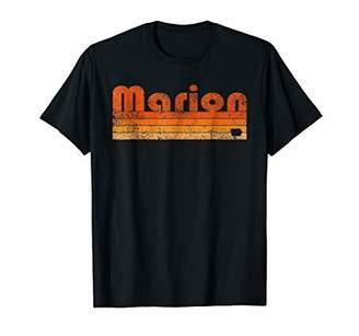 Retro 80s Style Marion IA T-Shirt