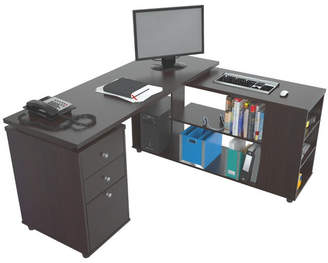 Latitude Run Toby L-Shape Executive Desk