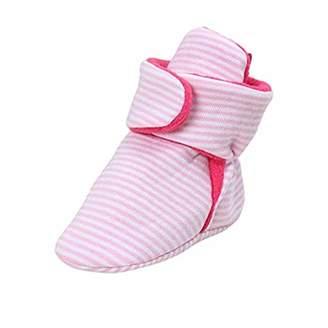 Baby Bootie FAMI Unisex-Baby Fleece Booties Cozy Socks Non Skid Gripper Bottom