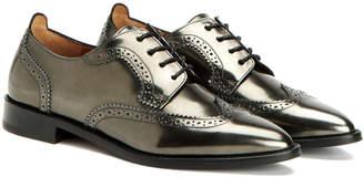 Aquatalia Gwen Waterproof Metallic Shoe