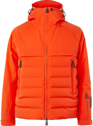 Moncler Achensee Quilted Hooded Down Ski Jacket