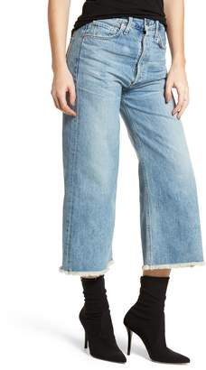 Citizens of Humanity Emma High Waist Crop Wide Leg Jeans (Stax)