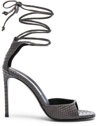 Stella McCartney Ankle Tie Heels