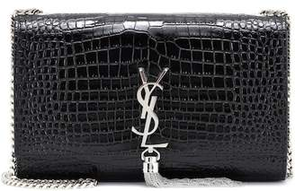 Saint Laurent Medium Kate Tassel embossed leather shoulder bag