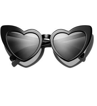Saint Laurent Women's Heart Cat Eye Sunglasses, 53mm