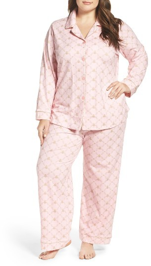 BedHeadPlus Size Women's Bedhead Print Classic Pajamas