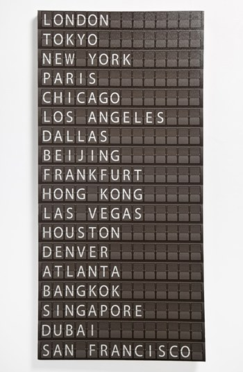 Torre & Tagus Departure Board Wall Art