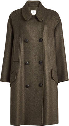 Isabel Marant toile Coat with Wool