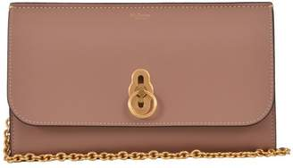 Mulberry Amberley Clutch Light Pink