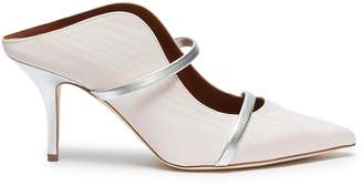Malone Souliers 'Maureen' strappy moire mules