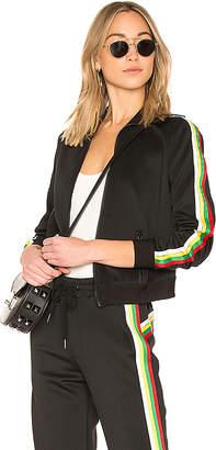 Pam & Gela Rainbow Sportstripes Track Jacket