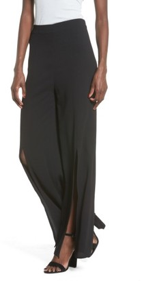 Women's Leith Front Slit Pants $69 thestylecure.com
