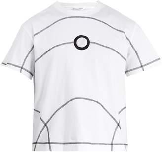 Craig Green Flat-lock detail crew-neck cotton T-shirt