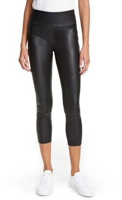 Sprwmn Leather Capri Leggings