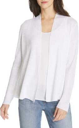 Eileen Fisher Shaped Organic Linen Cardigan