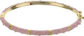 Ralph Lauren G. Adams G Adams Goldtone Polka Dot Colored Enamel Bangle