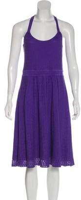 Tibi Silk Sleeveless Knit Dress