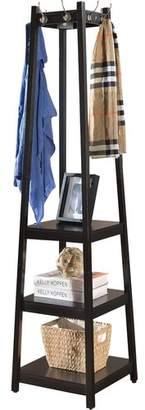 Andover Mills Clark Storage Shelve Coat Rack