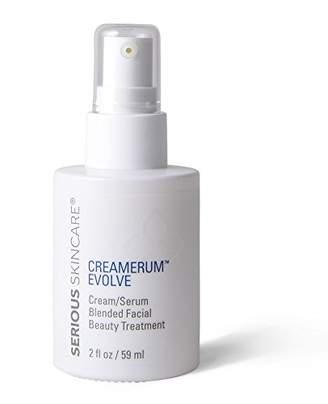 Serious Skincare Creamer Evolve Cream/Serum Blended Facial Beauty Treatment