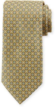 Brioni Squares Silk Tie