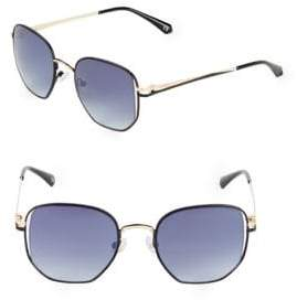 Balmain Matte 50MM Round Sunglasses