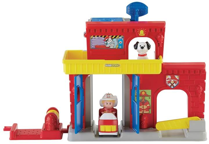 Fisher Price Little People Wheelies Fire Station by Fisher-Price