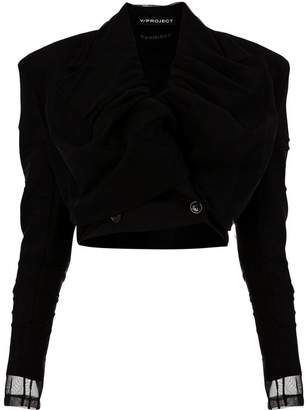 Y/Project Y / Project cropped double breasted jacket