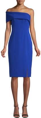Eliza J Asymmetrical Bodycon Dress