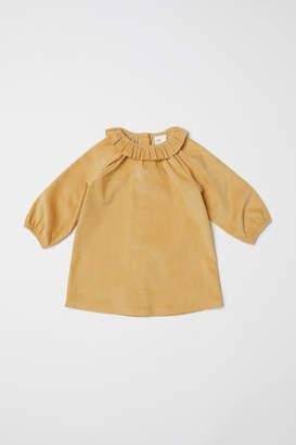 H&M Corduroy Dress - Yellow