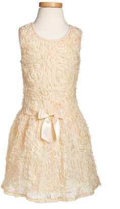 Popatu Rosette Drop Waist Dress