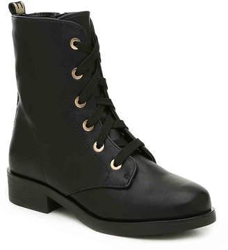 Bamboo Cosmo 04S Combat Boot - Women's