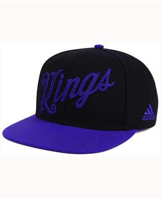 adidas Sacramento Kings Seasons Greeting Snapback Cap