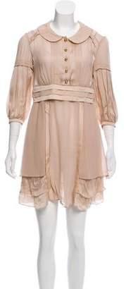Temperley London Silk Mini Dress w/ Tags
