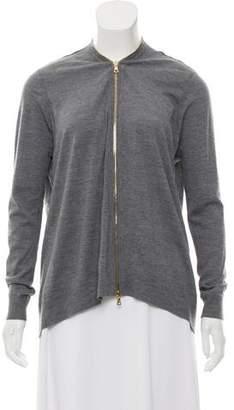 J Brand Merino Wool Zip-Up Cardigan