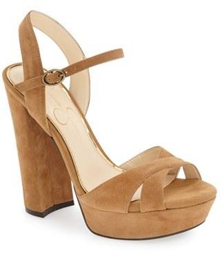 Women's Jessica Simpson 'Naidine' Platform Sandal $97.95 thestylecure.com