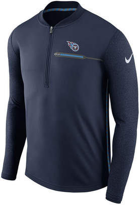 Nike Men's Tennessee Titans Coaches Quarter-Zip Pullover