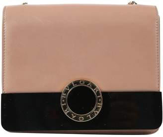 Bulgari Beige Leather Handbag